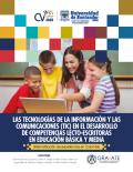 Cubierta para  Las tecnologías de la Información y las comunicaciones (TIC) en el desarrollo de competencias lecto-escritoras en educación básica y media. Sistematización de experiencias en Colombia.